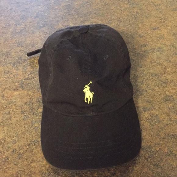 4ec23ecf2 Brown Ralph Lauren hat. Adjustable. Great shape.